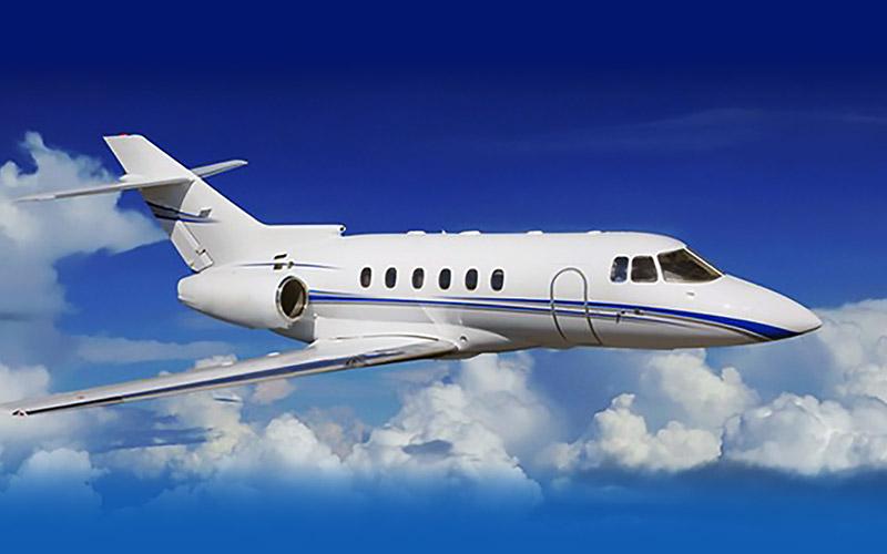 Hawker 800 Private Jet Hire