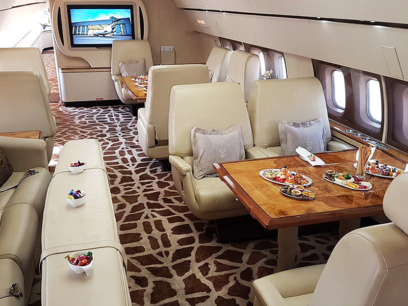 Boeing 727 Executive Private Jet Hire