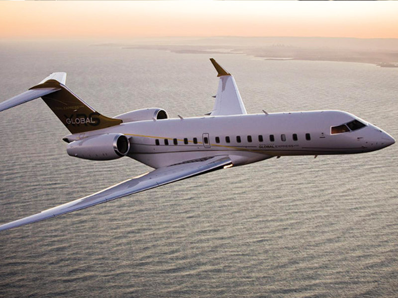 Bombardier Global Express XRS Private Jet Hire