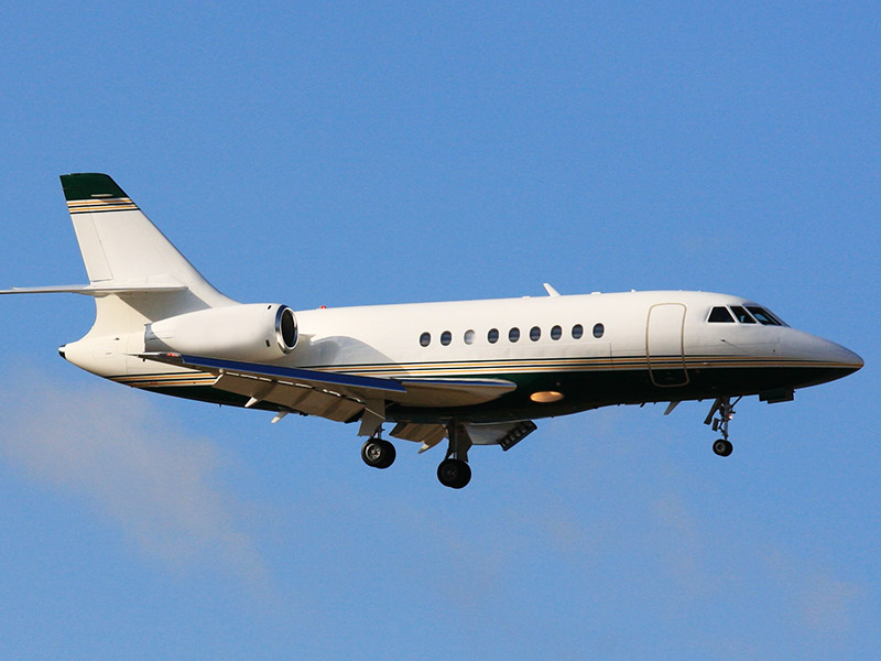 Dassault Falcon 2000DX Private Jet Hire