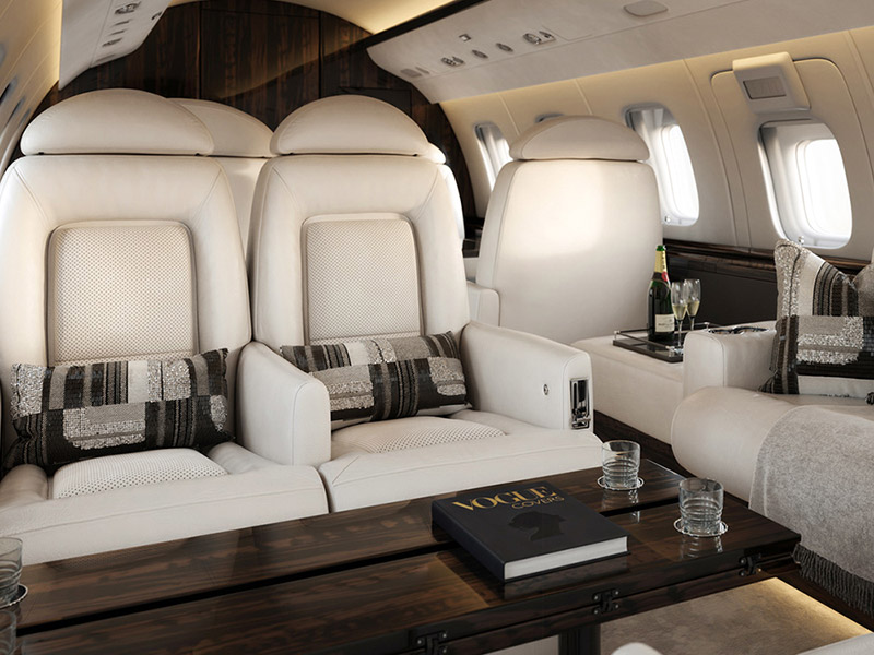 Bombardier Challenger 600 Private Jet Hire