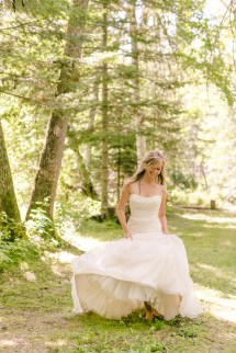 Vintage Enchanted Forest Fairytale Wedding With Kristen