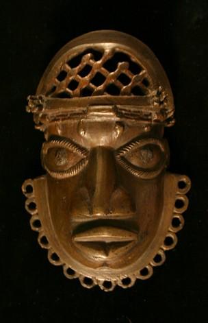 Benin bronze mask, British Museum