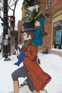 they had these figures throughout the town! good photo ops.