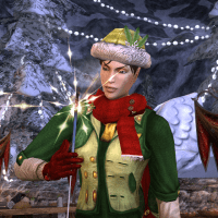 Red Elf of the North Pole
