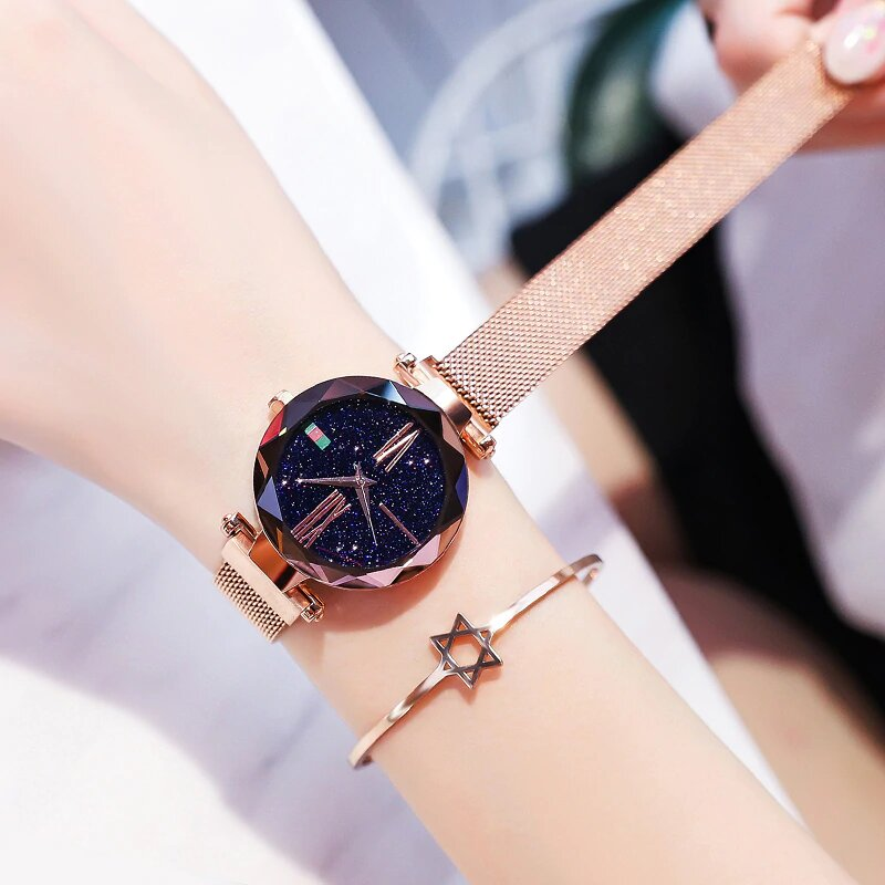 Часы с браслетами - Starry Sky Watch