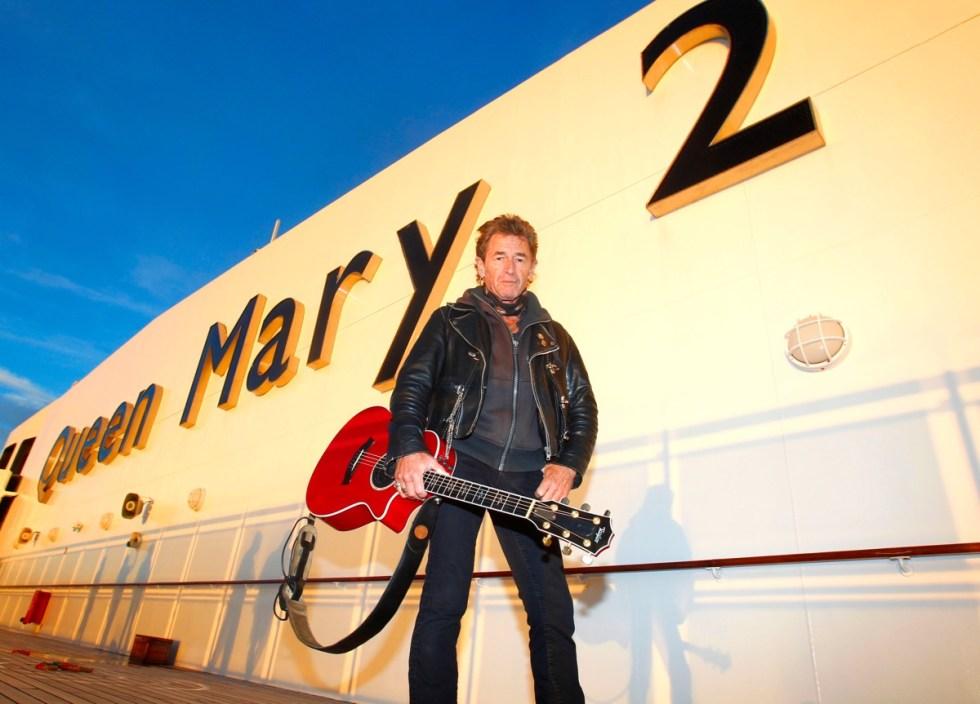 Peter Maffay auf der Queen Mary 2.