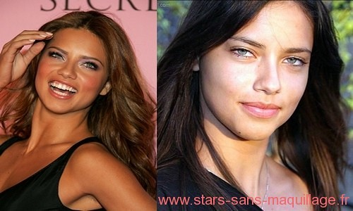 Adriana Lima sans make-up - photos de Adriana Lima au naturel