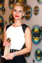 Claire Danes im Januar 2012 auf der HBO Golden Globe Party