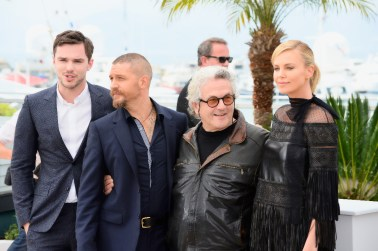 Charlize Theron, Tom Hardy, Nicholas Hoult & director George Miller