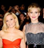 Elizabeth Banks und Jennifer Lawrence