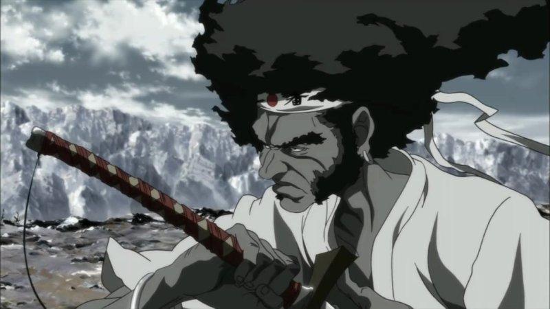 Afro Samurai Resurrection Stars And Popcorn
