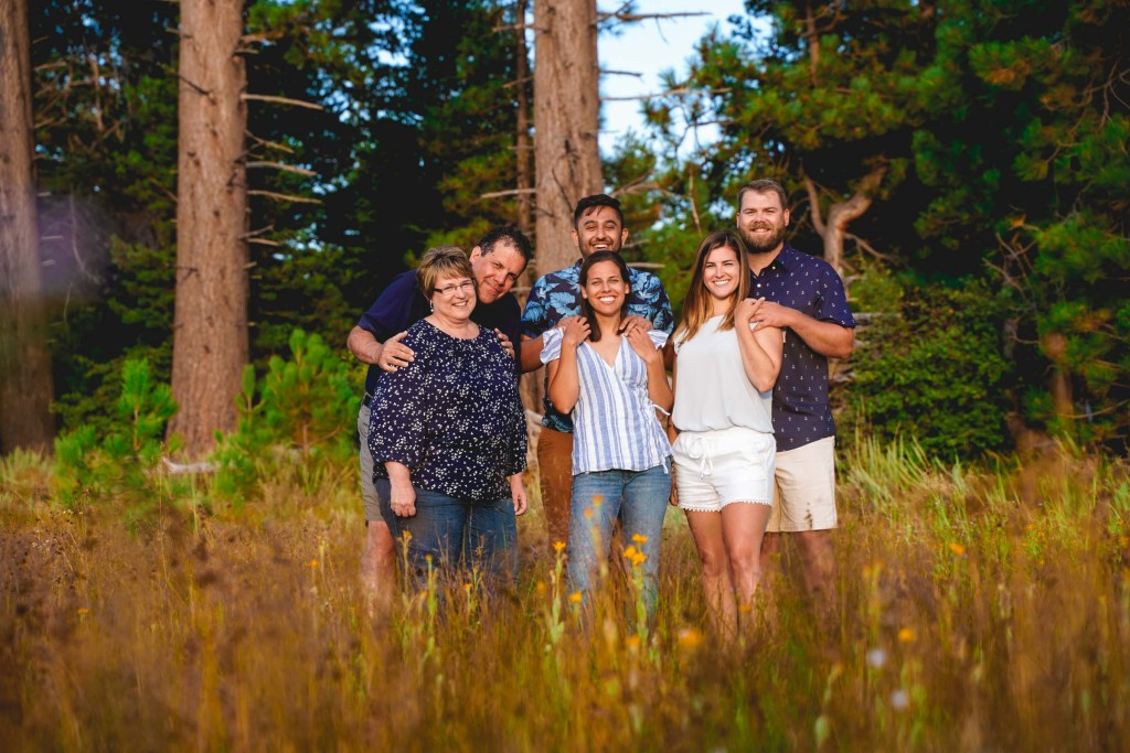 Lake Tahoe Family Photography Session at Kiva Beach