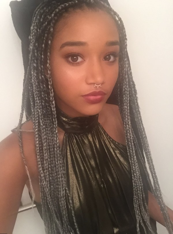 Amandla Stenberg Hair Braid