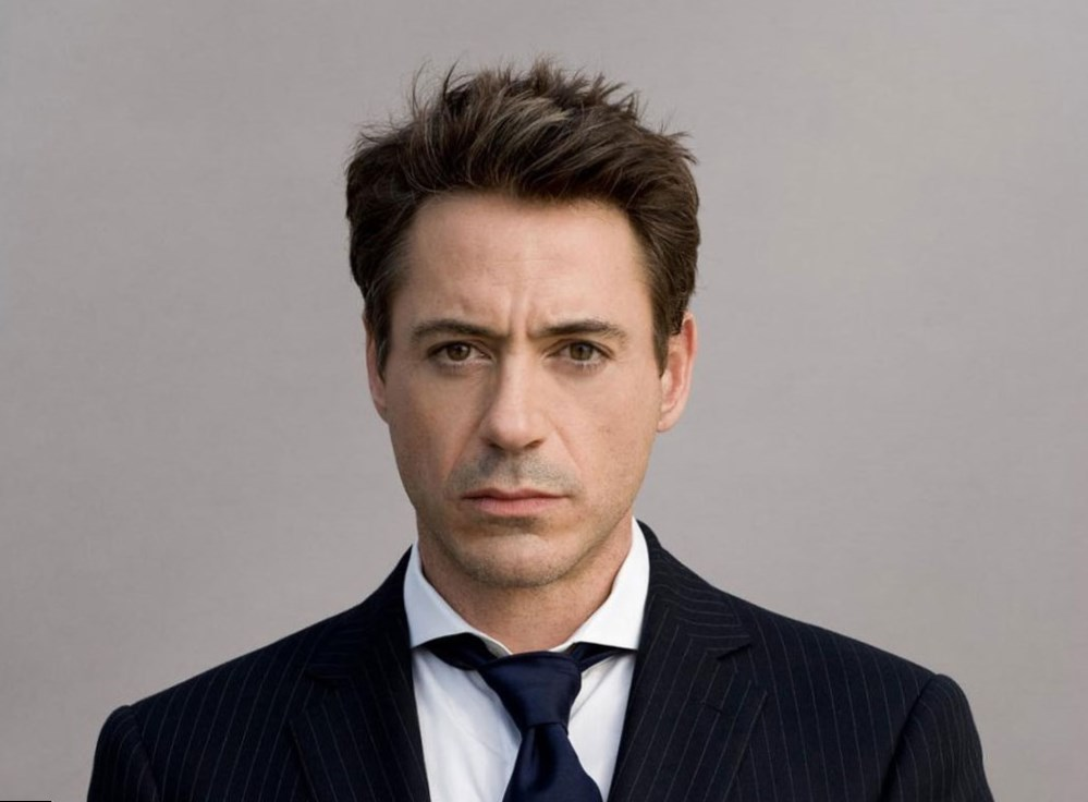 Robert Downey Jr Measurements Eye Hair Color