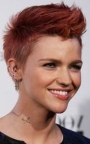 ruby rose celebrity hair