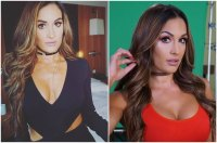 Bella Twins height, weigh and age. Opposite views on their ...