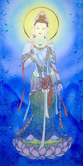 Altair Blue Dragon Guan Yin