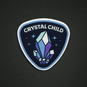 Crystal Child Sticker