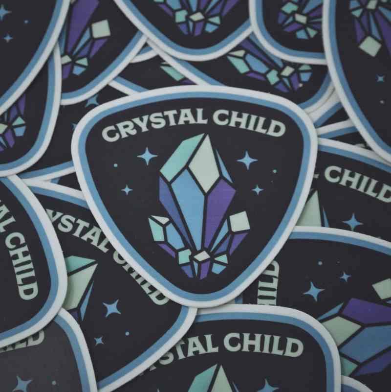 Crystal Child Sticker