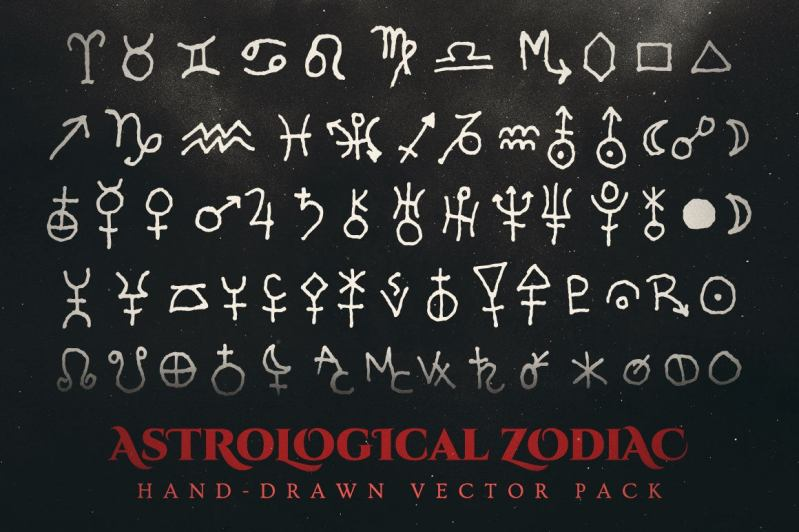 Esoteric & Occult Vector Illustrations