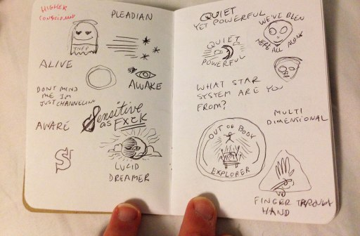 Starseed Sketches
