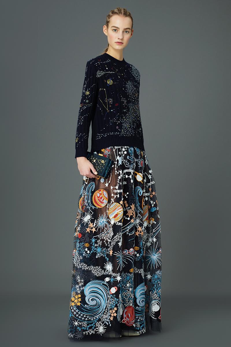 Valentino PreFall 2015 Cosmos Dresses