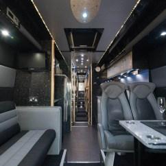 Ceramic Kitchen Top Indoor Garden 12 Berth Super Long Luxury Sleeper Bus - Starsleeper Ltd
