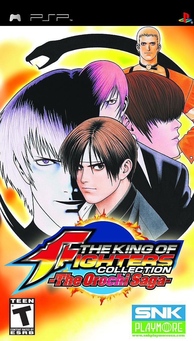 The King Of Fighters Collection The Orochi Saga