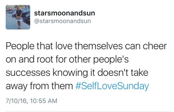 self love and jealousy