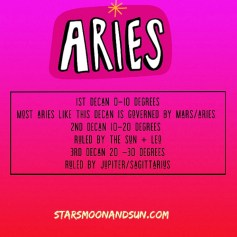aries decan updated