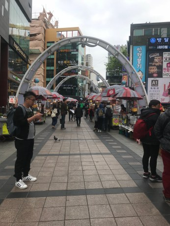 BIFF square is like Busan's version of Seoul's Myeongdong