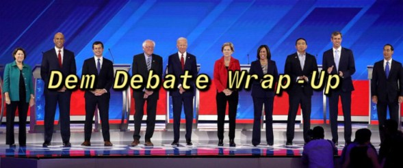 deb debate warp up