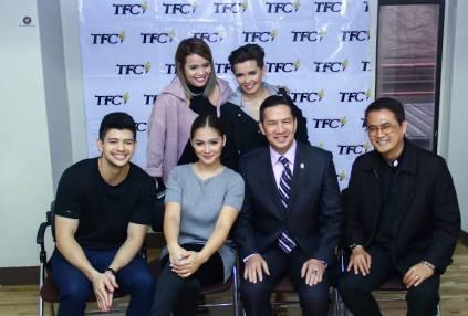 Kapamilya stars with Philippine Ambasador Raul Hernandez