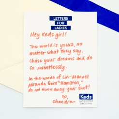 Letter from Chandra Pepino