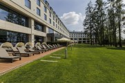 Ogrod DoubleTreeby Hilton Warsaw, fot. materialy promocyjne