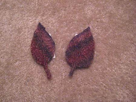 Leaves - Embelished