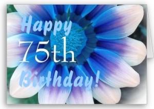 75th Birthday Starsricha