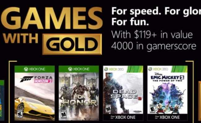 Xbox Games With Gold Coming Soon August 2018 Games Confirmed
