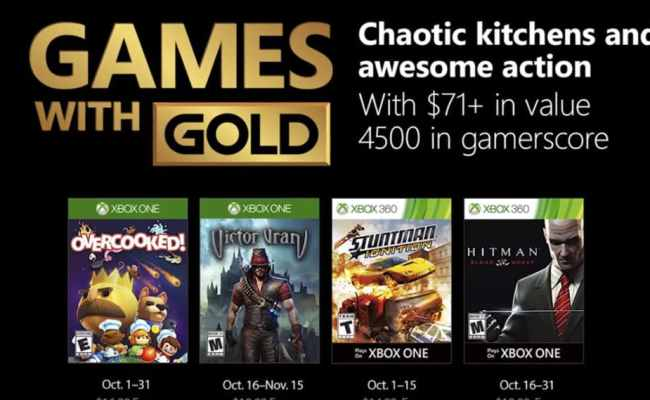 Games With Gold October 2018 Have Xbox Just Cranked Up