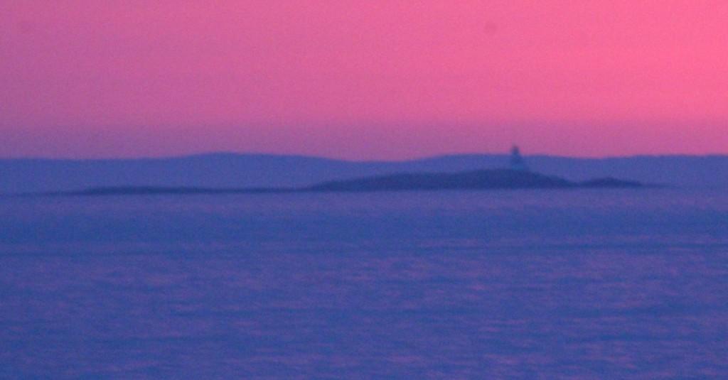 Soft pink sunrise April 10 2017