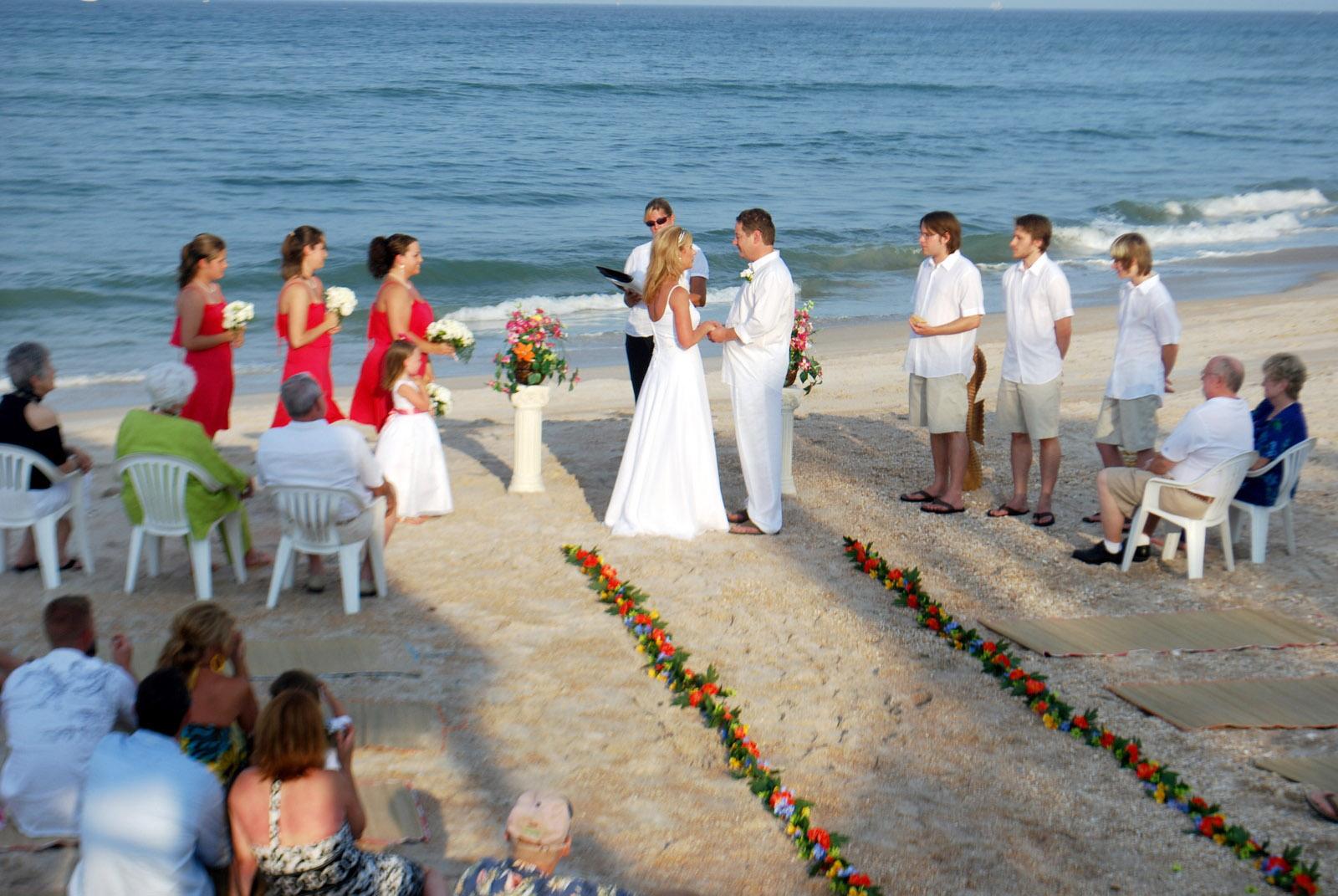The Romantic & Inspiring Beach Wedding