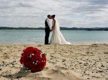 The Romantic & Inspiring Beach Wedding | starstylemepretty