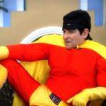 Aasif Sheikh turned superhero on the sets of Bhabhiji Ghar Par Hai
