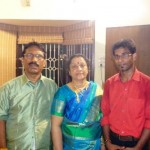 Dinesh Karthik's parents and brother