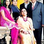 Isha Ambani With Her Parents And Siblings