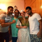 Parmish Verma with his family