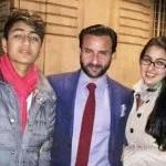 Amrita Singh ex husband Saif Ali Khan, son Ibrahim and daughter Sara