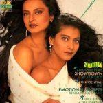 Rekha Kajol controversial magazine cover
