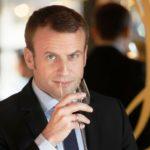 Emmanuel Macron Drinking Alcohol